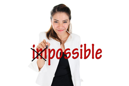 difficult mission: Change impossible to possible