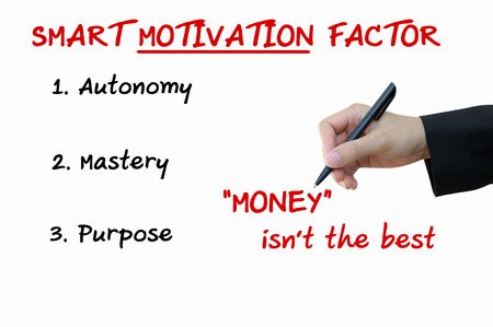mastery: Smart Motivation Factor of Business Concept