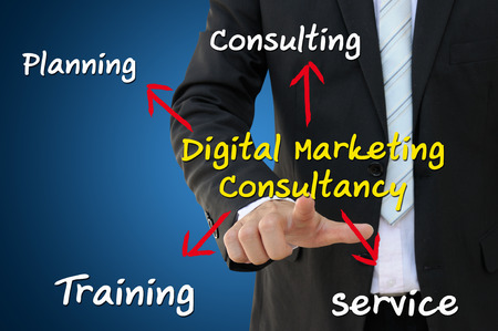 Digital Marketing Consultancy Role and Responsibility, Business Concept photo