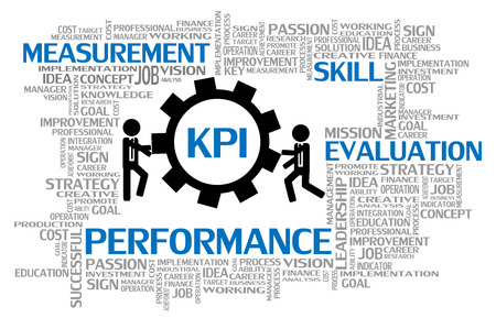 Key Performance Indicator or KPI, Business Concept Vector