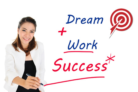 influencer: Successful of business concept by dream and work
