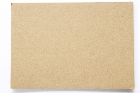 Blank sheet of brown paper useful as a background photo