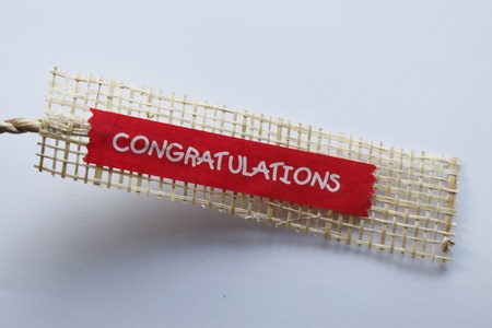 ribbin: tions to congratulate the graduates of various institutions. Stock Photo