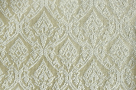 pattern of thai hand made fabric.made popular in the country of thailand.