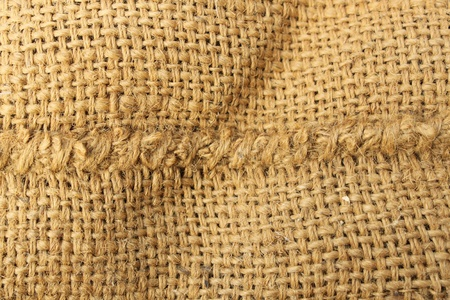 Background of Natural burlap sack Stock Photo - 11477376