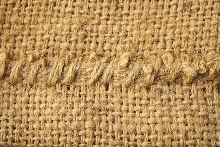 Background of Natural burlap sack photo