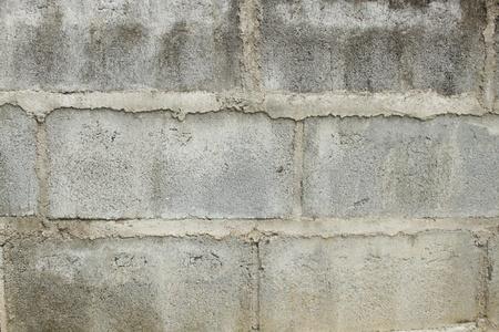 Gray block wall background photo