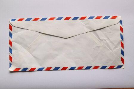 addressed: Vintage Lettera thai Archivio Fotografico