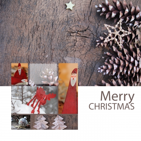 Santa is coming 写真素材
