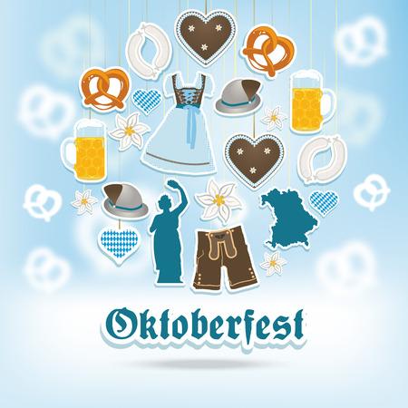 german sausage: Oktoberfest