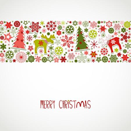 Frohe Weihnachten Standard-Bild - 32766003