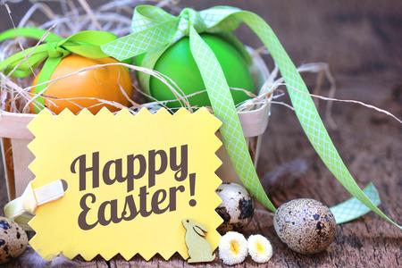 Frohe Ostern!  Standard-Bild