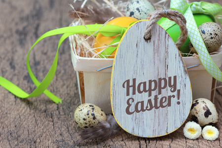 Happy Easter!  Banque d'images - 51860466
