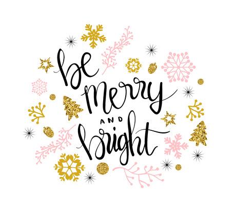 Cartolina di auguri di Buon Natale. Archivio Fotografico - 84992891