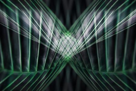 Abstract Background. Spiral Dark Green