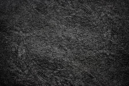 Texture of the Black Stone. Natural Dark Rock Background. Wall and Flooring Reklamní fotografie