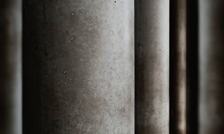 Cement Abstract Background. Layered of Concrete Texture. Dark Grey Tone Reklamní fotografie