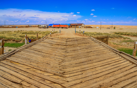 Gobi Desert, Mongolia - one of the largest deserts in the World, characterised by hot Summers and freezing Winters, the Gobi Desert offers a great display of nature and different landscapes Redactioneel
