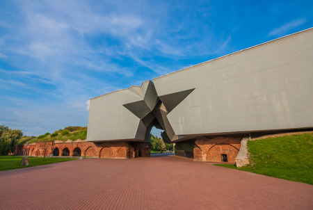 at the border with Poland, Brest is famous for its fortress and memorial dedicated to a fierce battle of World War II, in which the red Army, outnumbered, resisted weeks to the Nazi siege