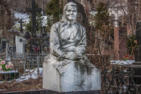 Kiev, Ukraine - like in many other former URSS countries, Kiev presents a countless number of bronze or marble statues all around the city Redakční