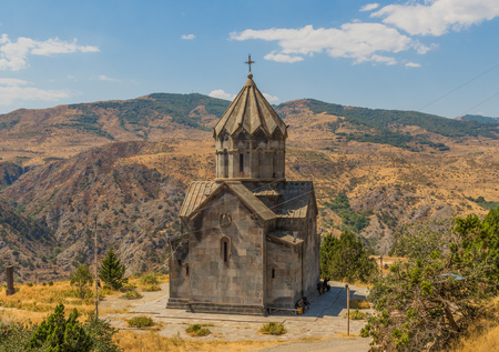 Nagorno-Karabakh region is since more than 25 years contended by Armenia and Azerbaijan. Here in the picture a detail of its heritage