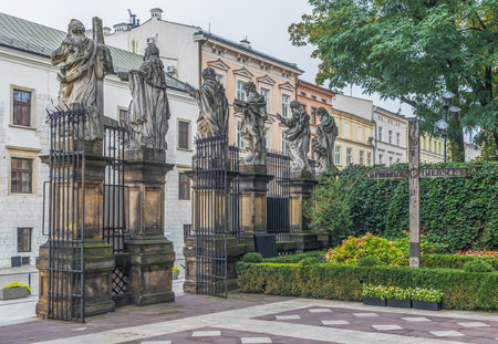 Krakow, Poland - the second biggest city in Poland, and a Unesco World Heritage site, Krakow offers a mix of history and modernity. Here in the picture a perspective of the Old Town Editorial