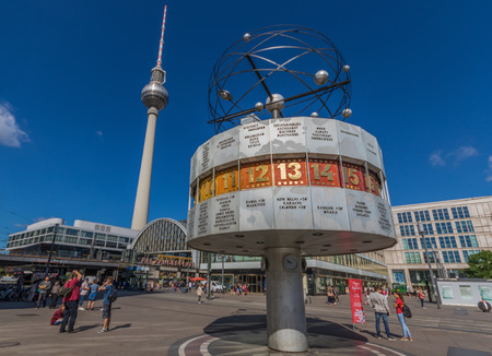 Berlin, Germany - one of the main symbols of the East Germany and the Cold War, Alexanderplatz is still today one of the most recognizable landmarks in Berlin