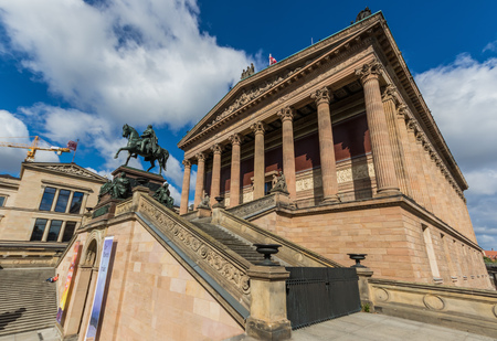 Berlin, Germany - Museum Island is the name of the northern half of an island in the Spree river, in the central Mitte district, and displays the most important museums of Berlin Editorial