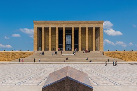Ankara, Turkey - even if not the most touristic place in Turkey, still Ankara offers some great spots. Here in particular the Famous Anitkabir, the mausoleum of Mustafa Kemal Atatürk