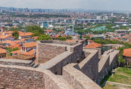 Ankara, Turkey - even if not the most touristic place in Turkey, still Ankara offers some great spots. Here in particular the Old Town and the Ankara Castle
