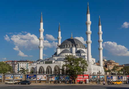Ankara, Turkey - even if not the most touristic place in Turkey, still Ankara offers some great spots. Here in particular one of the beautiful mosquees of the Old Town