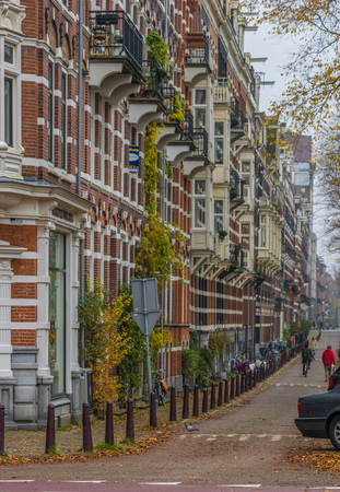 Amsterdam, Netherlands - main city and capital of the country, Amsterdam offers a splendid display of history and modernity. Here in the picture the Old Town