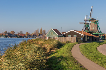 Zaanse Schans, Netherlands - considered a real open air museum, Zaanse Schans presents a collection of well-preserved historic windmills and houses