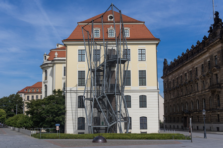 Dresden, Germany - famous for its wonderful Old Town (a Unesco World Heritage site), Dresden presents also a very interesting modern architecture and many colorful street art paintings