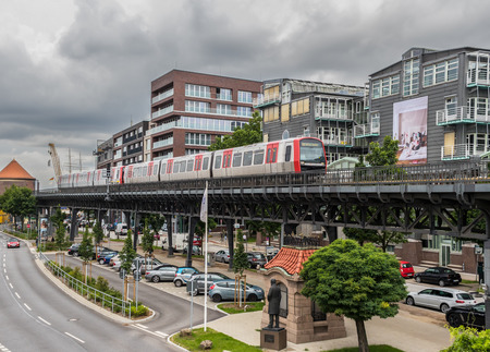 Hamburg, Germany - second biggest city of Germany by population, Hamburg presents a very well developed underground system which connets all the corners of the city