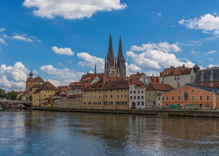 Regensburg, Germany - divided in two halves by the Danube, Regensburg is a UNESCO World Heritage Site due to its wonderful medieval architecture