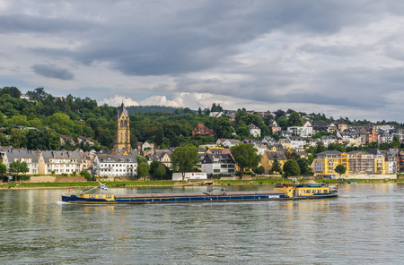 Koblenz, Germany - located on the confluence of rivers Rhine and Moselle, Koblenz is a wonderful town which displays a medieval Old Town and many important landmarks Publikacyjne