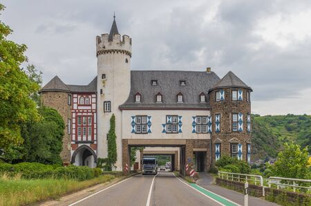 Moselle Valley, Germany - famous for its white wine production, the Moselle valley offers one of the most astonishing landscapes of Germany, with its villages, vinyards and castles
