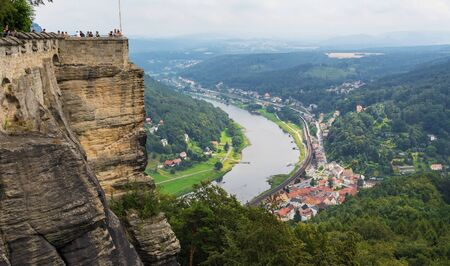 lbe Valley, Germany - a Unesco World Heritage city in its Dresden portion, the Elbe valley offers one of the most astonishing landscapes of Germany