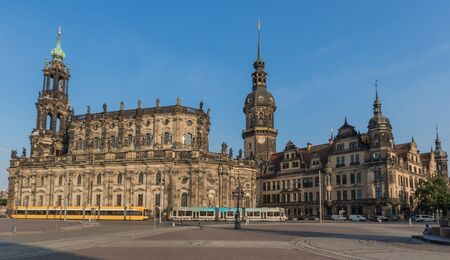 Dresden, Germany - one of the most heavily bombed cities during World War Two, Dresden has be completely rebuilt after 1945, and its Old Town is now a Unesco World Heritage site