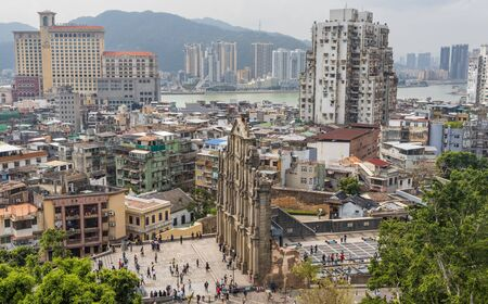 Macau, China - Portuguese colony until 1999, and a Unesco World Heritage site, Macau has many landmarks from the colonial period, like the wonderful St. Paul's ruins