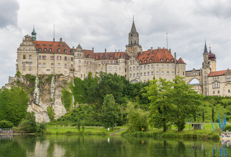 Sigmaringen, Germany - located in the Black Forest, very close to the source of the river Danube, Sigmaringen is famous for its Medieval fortress