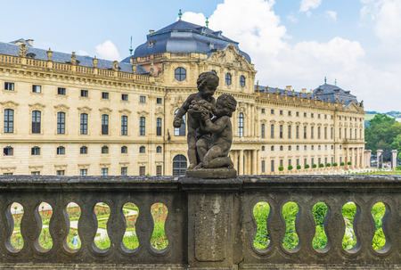 Wurzburg, Germany - located on the Main river and popular tourist destination, Wurzburg is a wonderful city which displays a Unesco World Heritage Old Town Editorial