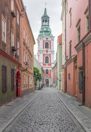 Poznan, Poland - one of the main cities of the country, Poznan presents a wonderful mix between ranaissance and medieval architecture. Here in particular a glimpse of the Old Town