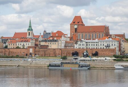 Torun, Poland - located on the Vistula River, Torun displays one of the most wonderful Gothic and Baroque architectures of Poland. Here in particular the Old Town, a Unesco World Heritage site