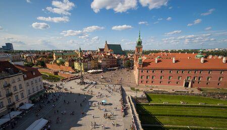 Warschau, Polen - Hauptstadt und größte Stadt Polens, Warschau zeigt eine farbenfrohe Altstadt, die aufgrund ihrer wunderbaren gotischen und barocken Architektur zum UNESCO-Weltkulturerbe gehört