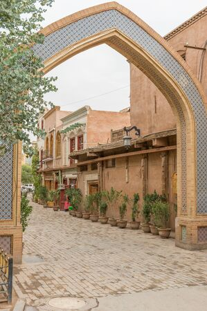 Kashgar, China - main city of the Uyghur ethnicity, and once an important stop along the Silk Road, Kashgar displays a wonderful Old Town, characterized by very narrow alleys