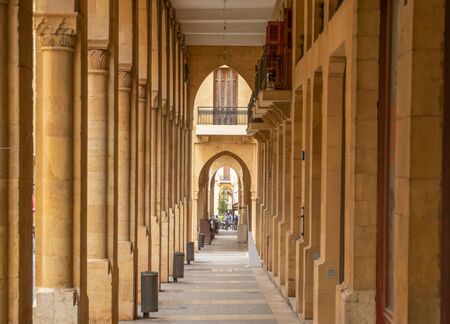 Beirut, Lebanon - largest city and capital of Lebanon, Beirut presents a wonderful Old Town which merges both historical buildings and new palaces