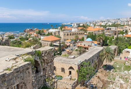 Byblos, Lebanon - one of the oldest continuously inhabited cities in the world, , the Old Town of Byblos is one of the most important historical sites in Lebanon