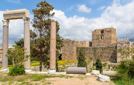Byblos, Lebanon - one of the oldest continuously inhabited cities in the world,  the Old Town of Byblos is one of the most important historical sites in Lebanon